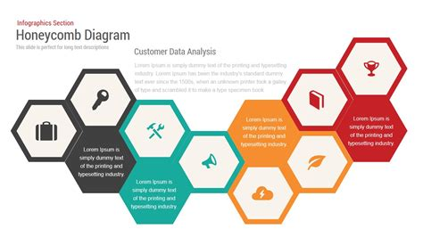 honeycomb diagram infographics powerpoint and keynote