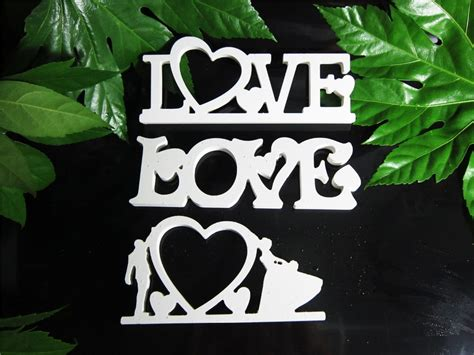 love home decor conjoined letter photo frame love home decor wedding