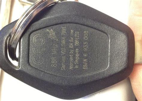 bmw comfort access key bmw fkv keys