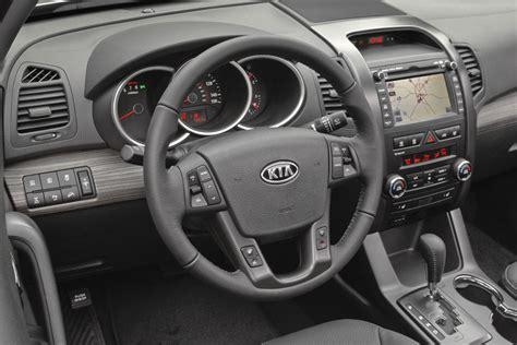 Kia 2012 Interior 2012 Kia Sorento Review Specs Pictures Price Mpg