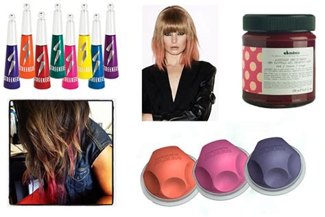 How To Make Neon Color Temporary Hair Dye With Food | bright hair dye best temporary colorful dyes