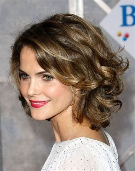 60 and easy hairstyles for curly hair