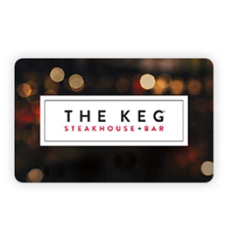 The Card - coincards ca buy the keg steakhouse bar gift cards