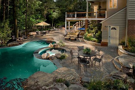 backyard with pool perfect backyard retreat 11 inspiring backyard design ideas