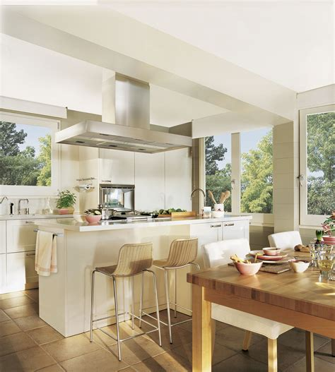 encimeras cocinas blancas cocinas blancas