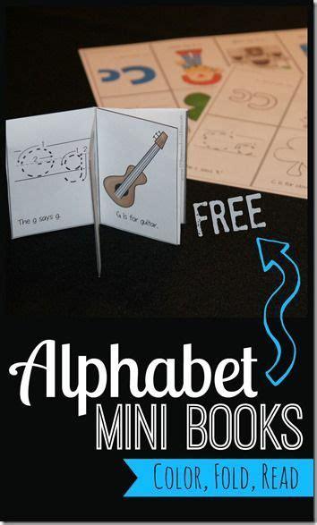 printable alphabet mini books preschool free alphabet mini books preschool toddlers and