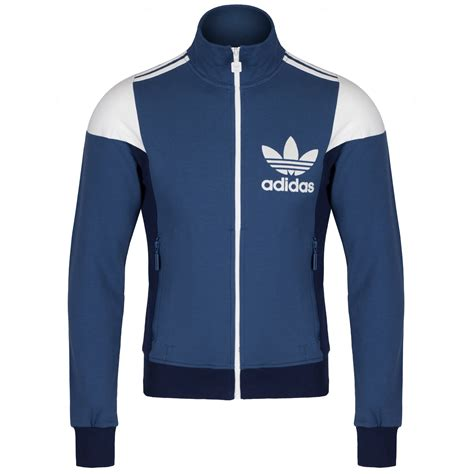 Top Slim Fitting Ori adidas originals mens 3 stripe 80 s retro track top tracksuit slim fit b grade ebay
