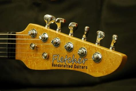 Handcrafted Guitars - photo gallery fletcher handcrafted guitars