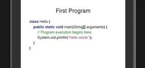 java swing hello world how to write a simple quot hello world quot application in the