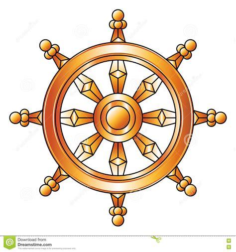 imagenes y simbolos del budismo rueda de oro de dharma s 237 mbolo de la religi 243 n del budismo