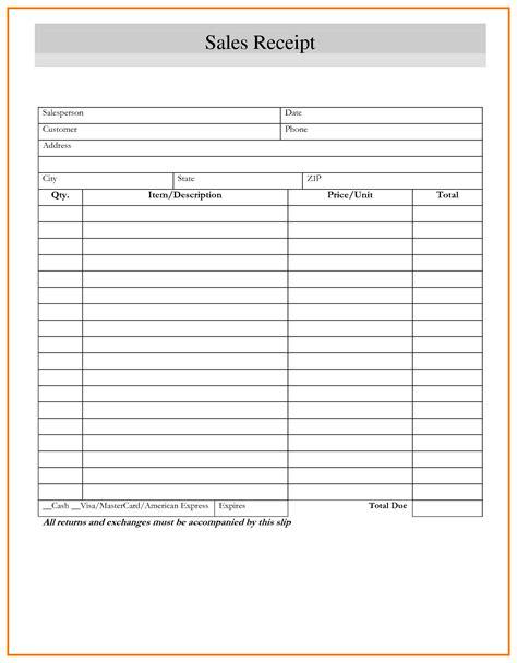 blank sales receipts oklmindsproutco empty receipt template dtk