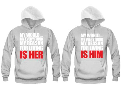 H M Set Tshirt Joger my world my everything my reason for living is him