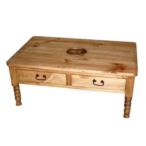 Family Dollar Coffee Table Shop Million Dollar Rustic Pine Coffee Table At Lowes