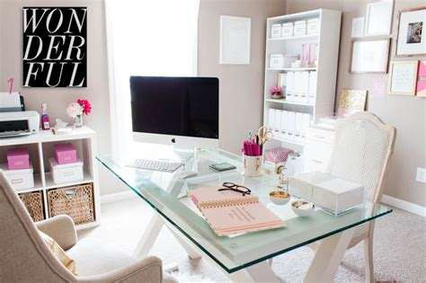 decorative home office accessories best home office ideas for bloggers and girl bosses glam