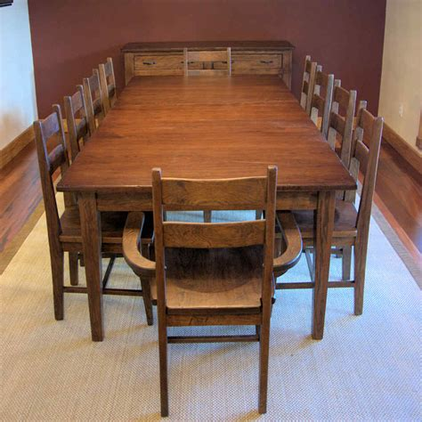 Large Kitchen Tables Large Dining Room Table Seats 10 Marceladick