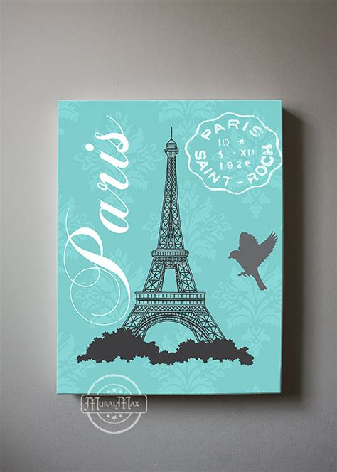 Room Decor Eiffel Tower Eiffel Tower Canvas Bedroom Decor Room