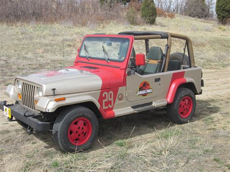 Jp29 1 Jurassic Jeep 65 Million Years In The