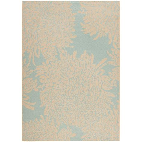 Martha Stewart Indoor Outdoor Rugs Safavieh Martha Stewart Terracotta Beige 4 Ft X 5 Ft 7 In Indoor Outdoor Area Rug Msr4125a 4