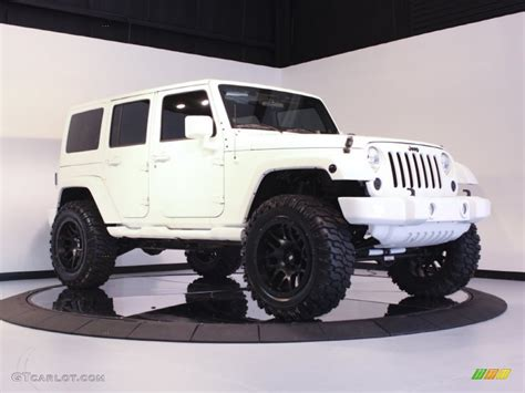 white jeep black rims jeep wrangler unlimited white with black rims image 174