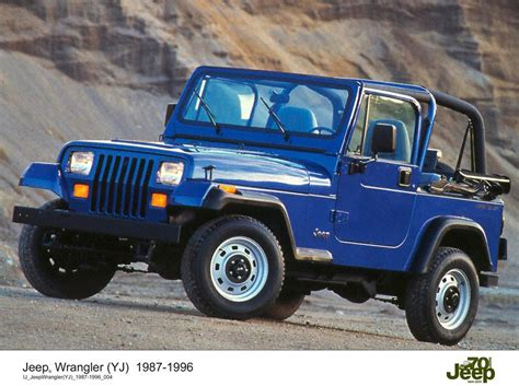1996 Jeep Wrangler jeep wrangler 1987 1996 historia