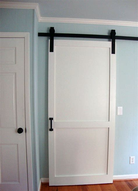 modern classic panel barn door