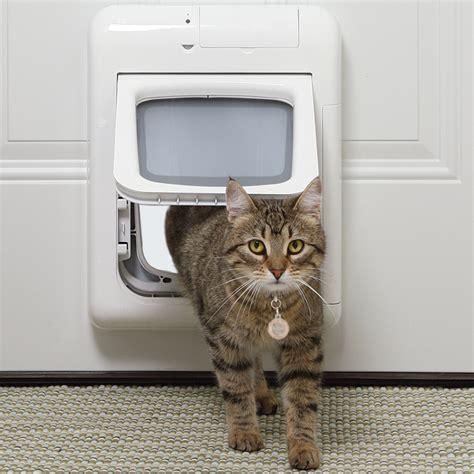 Pet Doors For Cats by Petsafe Passport Intelligent Cat Small Door Aussie