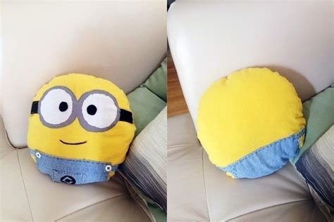 easy minion cushion 183 how to make a shaped cushion