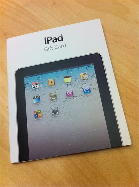 apple gift card apple releases ipad gift cards