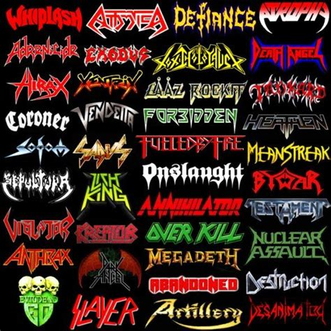 best metal bands thrash metal bands www pixshark images galleries