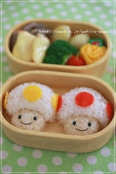 Some Sushi Mario Style With The Mario Bento Boxes by 1000 Images About Japanese On