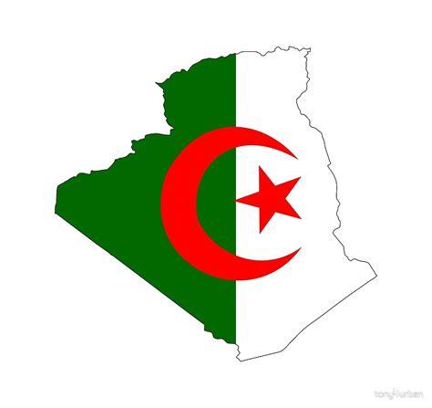 Map Duvet Cover Quot Algeria Flag Map Quot By Tony4urban Redbubble