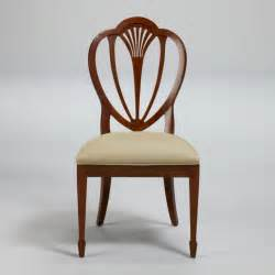 hepplewhite chair hepplewhite side chair traditional dining chairs