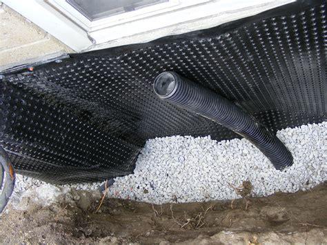 Basement drain tile clogged