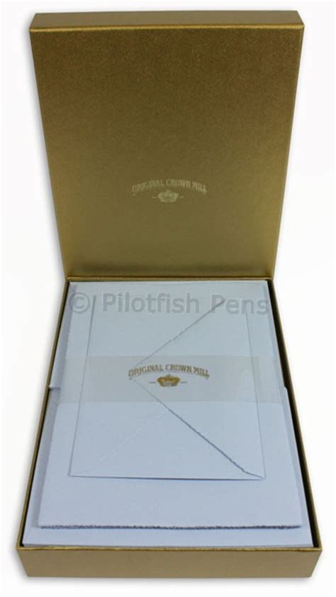 writing paper and envelopes crown mill luxury letter writing paper stationery set a5