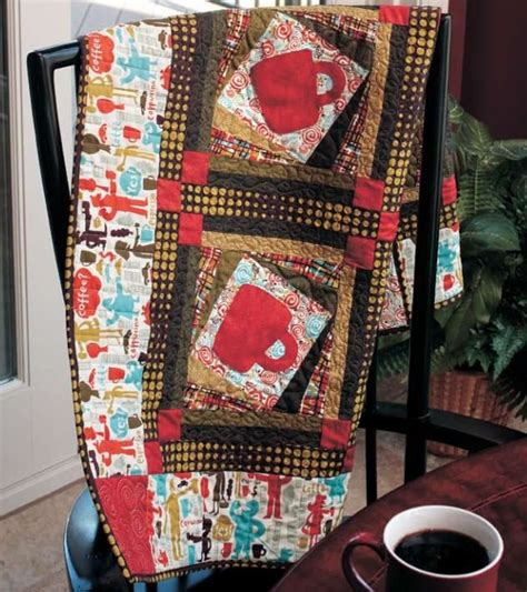 Coffee Quilt Pattern by Free Pattern Coffee Buzz Quilt By Gail Kessler