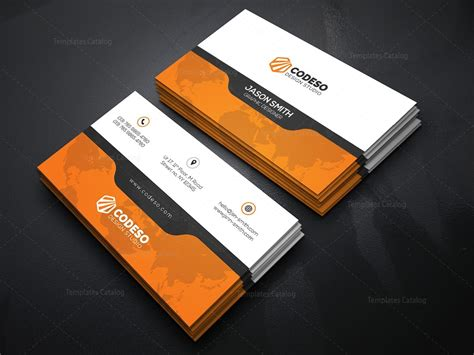 10 Creative Business Card Templates by Creative Business Card Template With Style 000371