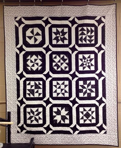 Black And White Quilts For Sale by Price Reduced Black And White Sler Quilt 62 X 77