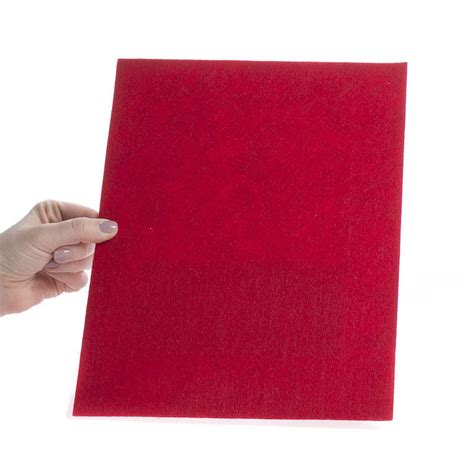 thick sheets red thick felt sheet felt basic craft supplies craft