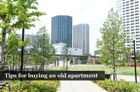 tips for buying an old apartment in japan