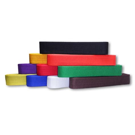 Colored Belt colored rank belts martial arts belt karate