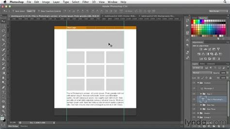 responsive layout in photoshop setting up a responsive web layout