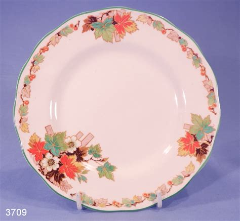 Grindley Cream Petal Autumn Vintage Tea Plate ? SOLD: Collectable China