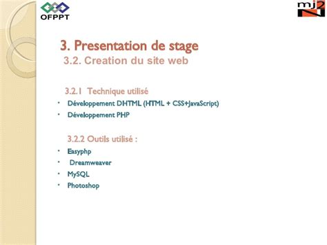 Modèle Powerpoint Soutenance Stage