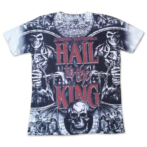 T Shirt Hail To The King official t shirt avenged sevenfold hail to king chalice