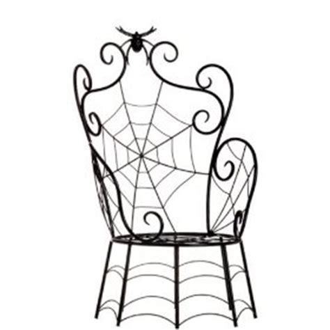 spider web chair large black spider spider web chair 27 inches