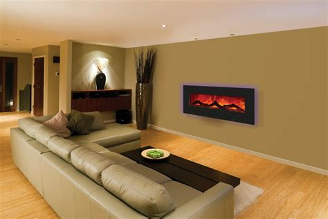 Interior Improvement Wall Mounted Electric Fireplace