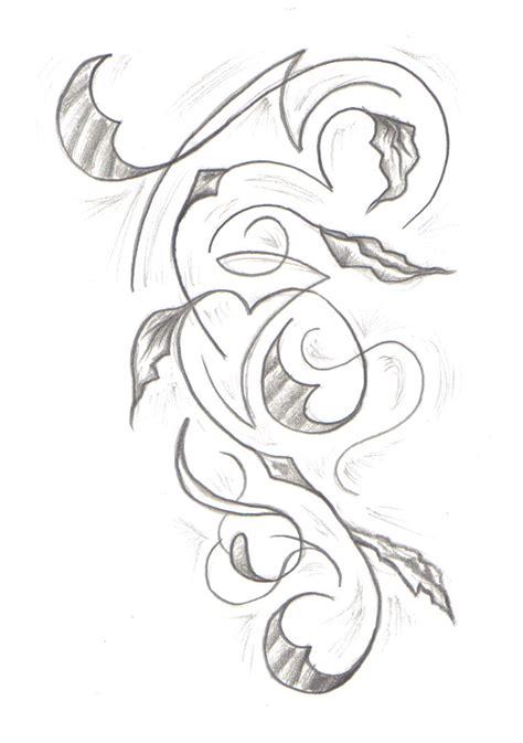 tribal vine tattoo tribal vine by undergroundtattoos on deviantart