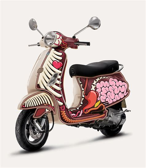 Design Vespa | art vespa design on behance