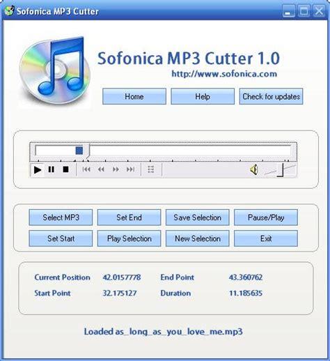 download mp3 cutter portable برنامج قص الاغاني sofonica mp3 cutter الفرستق