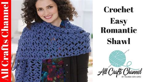 red heart yarn pattern lw2586 how to crochet romantic lacy shawl easy beginner level